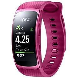 """Samsung Gear Fit II - Smartwatch de 1.5"""" con frecuencia cardíaca y notificaciones, L, Color Rosa [Versión importada: Podría presentar Problemas de compatibilidad]"""