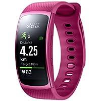 Samsung Gear Fit 2 Smartwatch mit Pulssensor und Benachrichtigungen - Pink (S)