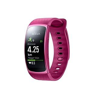 Samsung Gear Fit II–Smartwatch con frecuencia cardíaca notificaciones y Blue (S)