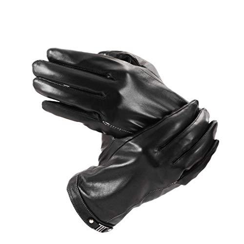 Echtes Schaffell Touchscreen Handschuhe Herren Winter Plus Samt Dicke Warmes Fahren Radfahren Großhandel Benutzerdefinierte Echtes Schaffell Handschuhe - Echtem Schaffell