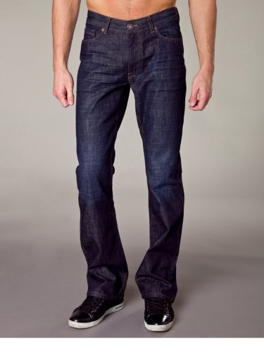 H.i.s jeans pour homme randy w5002 dans différentes couleurs et tailles disponibles - 731983 102–10–1007 graphique Bleu - Rinse Wash