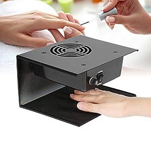 300W Secador de Uñas de Aire Frío y Caliente, Secado Rápido, No Bronceará las Manos, para Secar con Ambas Manos