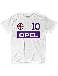 Camiseta camiseta fútbol Vintage Giancarlo Fiorentina 10 antognoni Temporada 83 – 8, KTS01836_XXL, ...