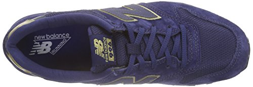 New Balance Wr996, Baskets Basses Femme Bleu (Blue)