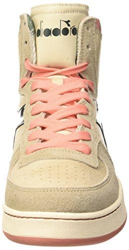 Taupe Unisex Adulto Scuro Alte Sneaker Diadora Verde Mi Beige Basket Camo WYvFn8Xq