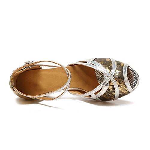 Minitoo , Salle de bal femme Gold-5cm Heel