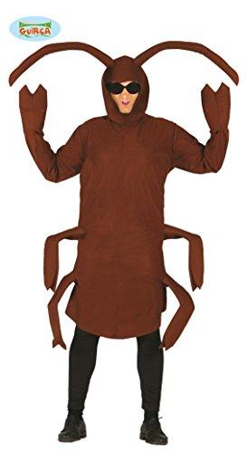Riesen Kakerlake Kostüm für Erwachsene Gr. M/L, - Kakerlake Kostüm