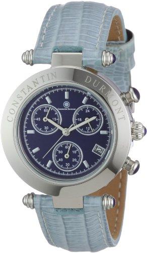 Constantin Durmont Women's Visage Watch CD-VISL-QZ-LT-STST-BL