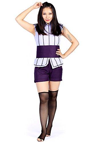Naruto: Shippuden Movie 7 - The Last Cosplay Costume Hyuga Hinata Outfit (Naruto Kostüm Leaf Ninja)