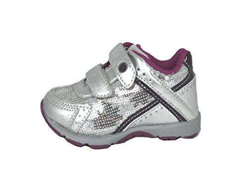 Crianças Naturino Shoes Menina Sapato Metade 9121 Prata