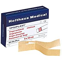 Holthaus Mediacl YPSIPLAST Fingerverband Fingerpflaster Wundpflaster, elastisch, lose, 2x12cm, 100 St preisvergleich bei billige-tabletten.eu
