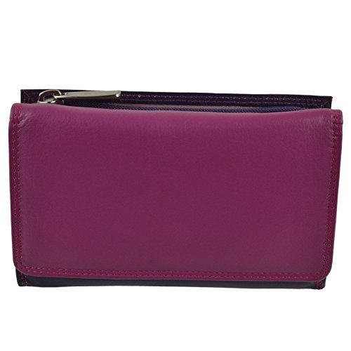 maneggevole donna Golunski Medium Multi a Sonnenuntergang pelle da vera regalo in portafoglio portafoglio z11FqwR