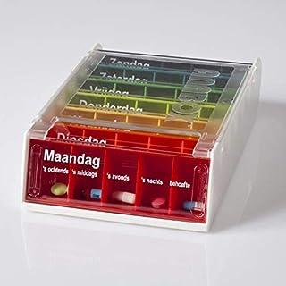 Anabox AL70010 Weekly Medication Box Dutch Design