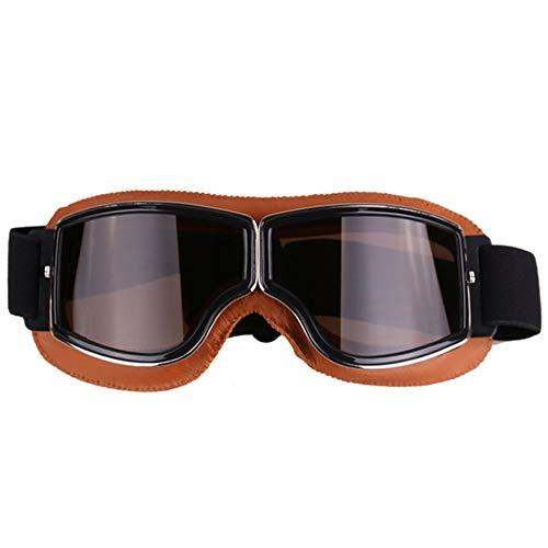 kamier Retro klassische Schutzbrillenmotorradgläser, die nicht für den Straßenverkehr Schutzbrillen reiten, wie gezeigt