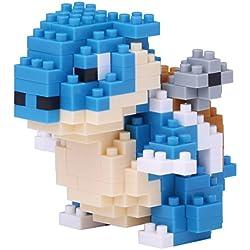 Japón Nano Bloques - Nano bloque de Pokemon Kamex NBPM-019, 220 piezas! Grado de dificultad: (Fácil) 3 de 5 (difícil)