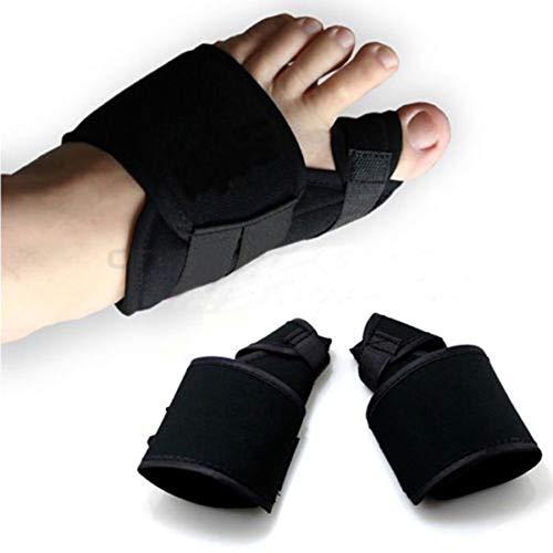 7447ceee2749 COOYT 4pcs / 2Pair Bunion Corrector Big Toe Splint Brace Toe Enderezadoras  Separador de Dedos Nocturno Juanete Alivio del Dolor para Hallux Valgus, ...