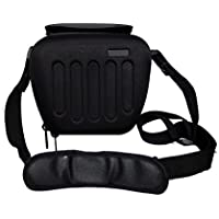 Heavy-duty Waterproof Hard Case Bag For Panasonic DMC FZ82 FZ200 FZ72 FZ330 LZ40 LZ30 GH4 GH3 G7 GF7 Long-Zoom / Bridge/Compact system Camera.