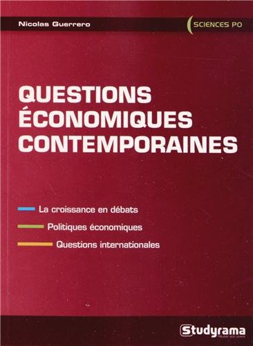 Questions conomiques contemporaines