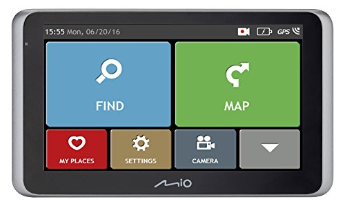 MIO MiVue Drive Satellite Navigation and Dash Cam 55 LM - Full Europe