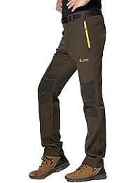 Pantalón de montaña para Hombre Impermeable Mujer Pantalone De Trekking transpirable Secado Rápido Al Aire Libre
