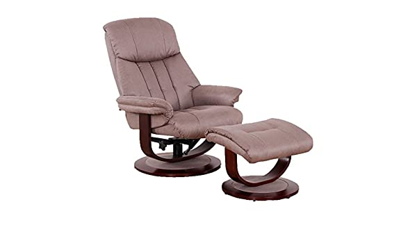 Tousmesmeubles Relaxation de Marron L Fauteuil Infinity WD9Y2IEH