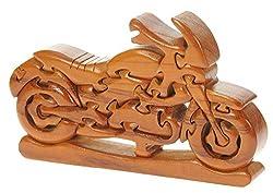 Sport Motorrad 3D Puzzle Geschenk für Männer & Frauen Biker Spaß Aus Holz