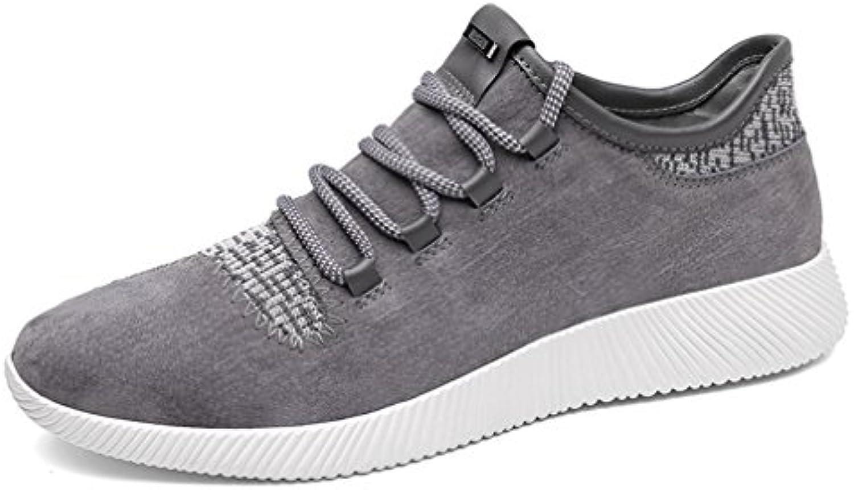 Herren Sneakers Rundzehen Schnürhalbschuhe Laufschuhe Leichtgewicht Atmungsaktiv Tragen Alltag Freizeitschuhe