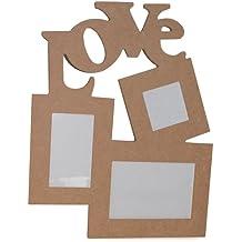 La Fourmi 38 x 30 x 1 cm Love multi-marco de fotos con 3 marcos