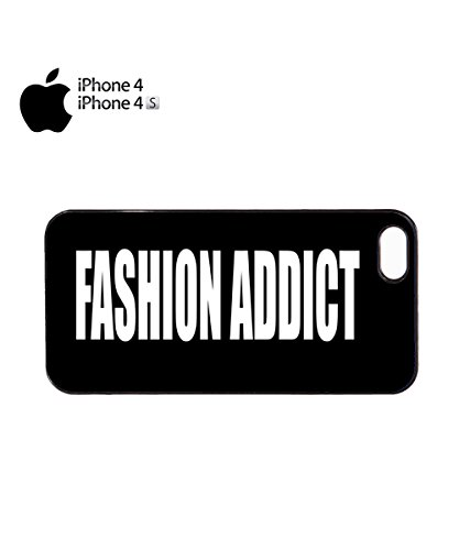 Fashion Addict Blogger Mobile Cell Phone Case Cover iPhone 6 Plus Black Noir