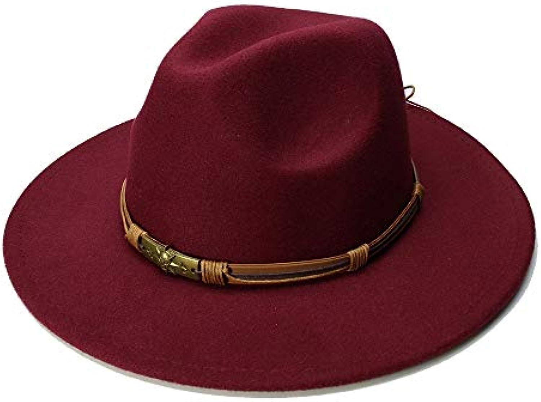 HYF Cappellino in Feltro Vintage in Feltro di Lana da Uomo Uomo da con Berretto  Invernale e2dd462884bf