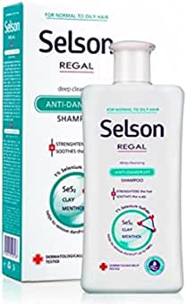 Regal Selson - Champú Anticaspa, Cabello Normal a Graso