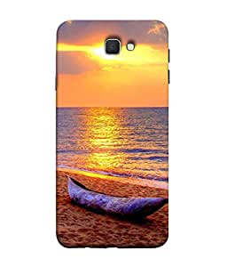 PrintVisa Vintage Boat 3D Hard Polycarbonate Designer Back Case Cover for Samsung On7 (2016) New Edition For 2017 :: Samsung Galaxy On 5 (2017)