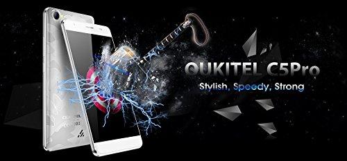 Oukitel c5 pro smartphone libres Android 6 0 5 0 pulgada HD 720 1280 2000mAh bater  a grande 2 GB RAM 16 GB ROM 5 0MP 2 0MP c  mara MTK6737 quad-core