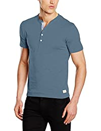 SELECTED HOMME Herren T-Shirt Shhniklas Ss Split Neck Noos