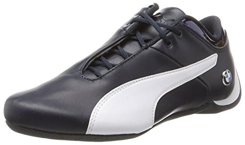 Puma BMW Ms Future Cat, Sneakers Basses Mixte Adulte, Bleu (Team Blue-White), 45 EU