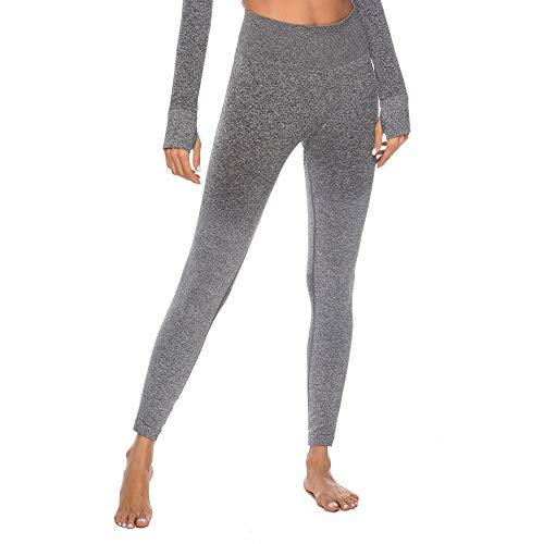 SMILEQ Frauen Training Tie Dye Print Leggings Fitness Sport Gym Yoga athletische Hosen (Grey, (Jean Grey Kostüm Für Verkauf)