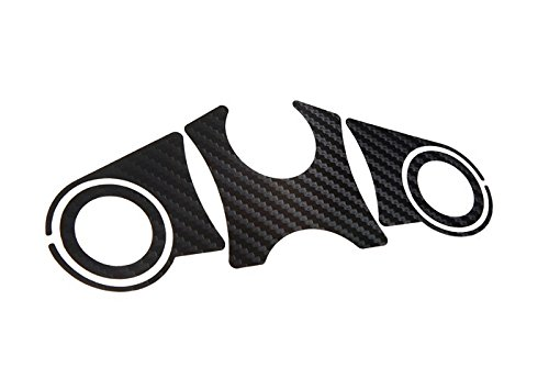 Pegatina tija superior de carbono Suzuki V-Strom