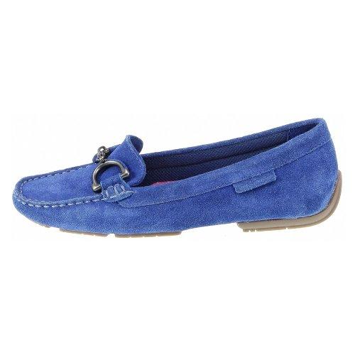 Slip Hush Puppies Loafer De on Azul Camurça Cora rEOdqE