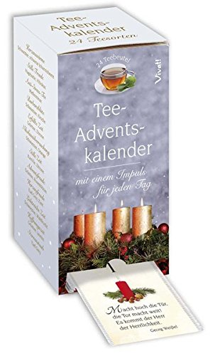 Tee-Adventskalender: 24 Teesorten