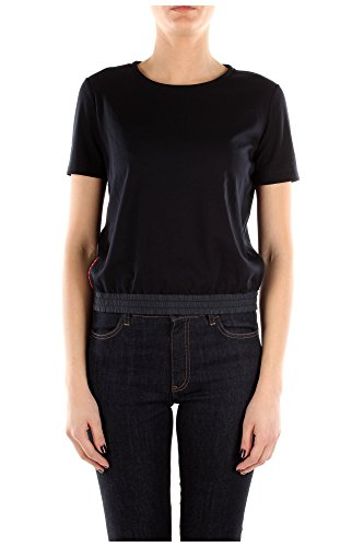 135622NAVY Prada T-Shirt Damen Baumwolle Blau Blau