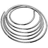 Schell 487400699 - Tubería de cobre en forma de anillo, 8 x 5000 mm, cromo