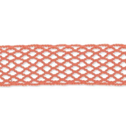 Fischnetz Band 15 mm Korall x 1m - Fischnetz-band