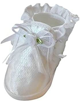 Festlicher Schuh für Taufe oder Hochzeit - Taufschuhe für Baby Babies Mädchen Kinder, TP08 Gr. 16