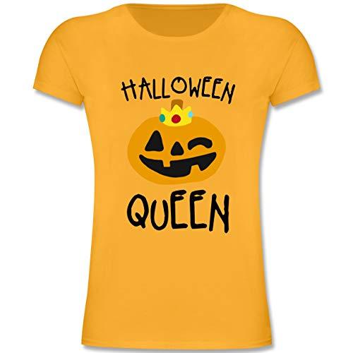 lloween Queen Kostüm - 164 (14-15 Jahre) - Gelb - F131K - Mädchen Kinder T-Shirt ()