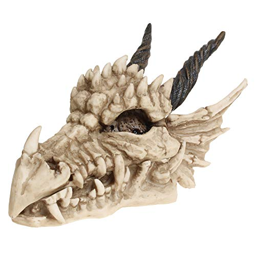 Nemesis Now Dragon - Caja con Forma de Calavera (15 cm, 23 cm),...