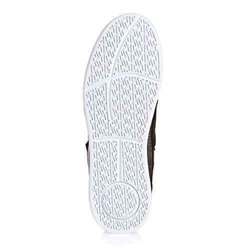 Chaussures Avex Black/White - Supra Noir/WHITE/WHITE