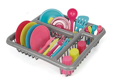 Toyrific Dish Washing Fun Play Set, 28 Pieces - Multi-Coloured
