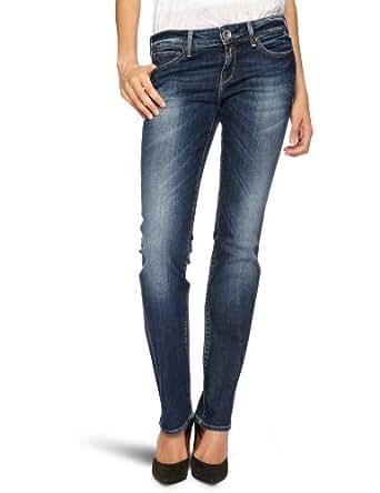 Replay Damen Jeans Normaler Bund Pearl Straight Fit WX559.000.345122, Gr. 26/30,Blau  (blue denim) (007)
