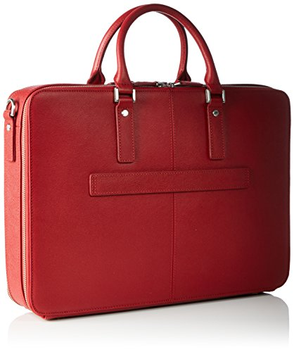 Picard Herren Soho Business Tasche, 9x30x42 cm Rot (Rot)