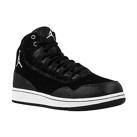 Nike Jordan Executive BG Chaussures de basket-ball, Garçons, Noir, 35 1/2